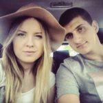 Nikola Jokic with girlfriend Natalija Macesic