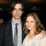 Noah Baumbach with former wife Jennifer Jason Leigh