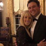 Patrick Reed with wife Justine Karain