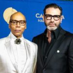 RuPaul with spouse Georges LeBar