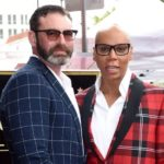 RuPaul with spouse Georges LeBar image