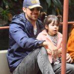 Ryan Gosling with daughter Amada Lee Gosling