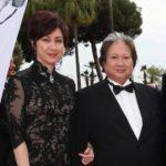 Sammo Hung with wife Joyce Godenzi