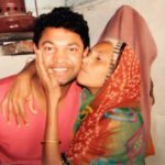 Saroo Brierley with biological mother Fatima