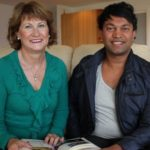 Saroo Brierley with mother Sue Brierley