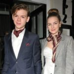 Thomas Brodie-Sangster with sister Ava Sangster