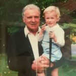 Webb Simpson with his grandfather Fred Webb in childhood