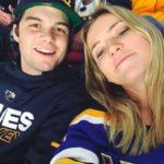Andrew Benintendi with his girlfriend Becca Schamel
