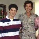 Ashton Agar with brother William Agar