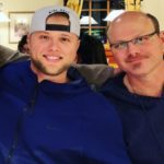 Austin Meadows with father Kenny Meadows
