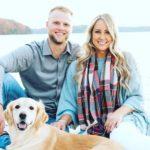 Austin Meadows with wife Alexis Meadows