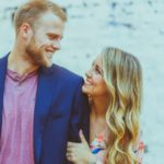 Austin Meadows with wife Alexis Meadows image