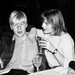 Boris Johnson with former wife Allegra Mostyn-Owen
