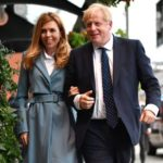 Boris Johnson with girlfriend and fiance Carrie Symonds image
