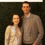 Chesson Hadley with wife Amanda Hadley