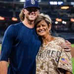 Chris Paddack with his mother image