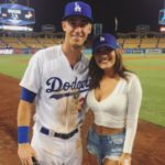 Cody Bellinger with girlfriend Melyssa Perez