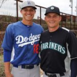Corey Seager with brother Kyle Seager