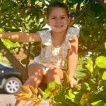 David Warner daughter Indi Rae Warner