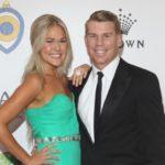 David Warner with former girlfriend Samantha Williams