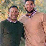 Fernando Tatis Jr with father Fernando Tatis