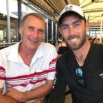 Glenn Maxwell with father Neil Maxwell