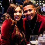Gleyber Torres with wife Elizabeth Torres