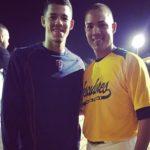 Jose Berrios with brother Bebo Berrios