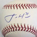 Josh Hader signature