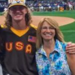 Josh Hader with mother Patricia Hader