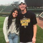 Josh Hader with wife Maria Macias