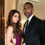 Justin Bethel with wife Breanna Bethel image