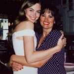 Lani Baker with mother Tara Baker