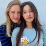 Lily Chee with her mother Rebecca Chee