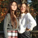 Lily Chee with sister Mabel Chee