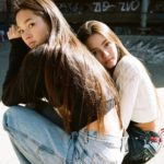 Lily Chee with sister Mabel Chee image