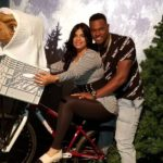 Luis Severino with his wife Rosmaly Severino