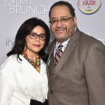 Michael Eric Dyson with wife Marcia Louise Dyson image