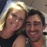 Mitchell Starc with wife Alyssa Healy
