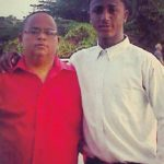 Ozzie Albies with father Osgarry Albies