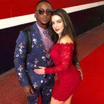 Ozzie Albies with girlfriend Brazilian Miss image