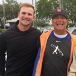 Pete Alonso with father Peter Matthew Alonso