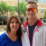 Pete Alonso with mother Michelle Alonso image