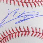 Rafael Devers signature
