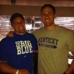 Rex Burkhead with brother Ryan Burkhead