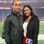Stephon Gilmore with wife Gabrielle Glenn Gilmore image