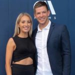 Tim Paine with wife Bonnie Mags Paine