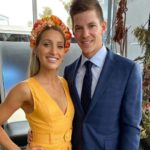 Tim Paine with wife Bonnie Mags Paine image