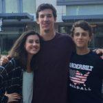 Walker Buehler with siblings image