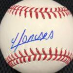 Yoan Moncada signature